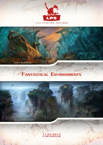Poster - Fantastical Environment Art